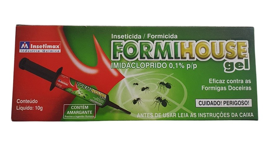 Inseticida Formihouse Gel 10g