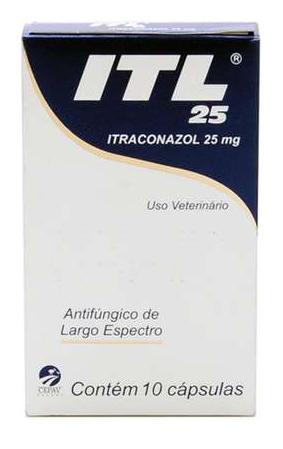 ITL 25 10 comp Cepav Antifúngico Oral Cães e Gatos