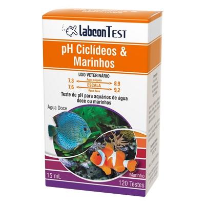 Labcon Test Ph Ciclídeos E Marinhos 15ml