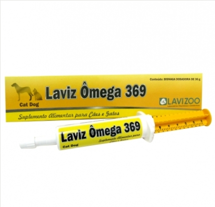 Laviz Ômega 369 Suplemento Para Cães E Gatos Lavizoo