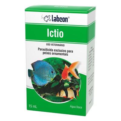Medicamento Parasiticida Labcon Ictio para Peixes 15ml