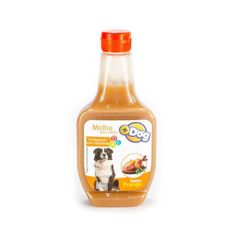 Molho para Ração sabor Frango Mais Dog 250g