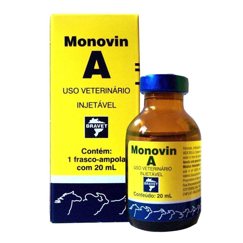 Monovin A Vitamina Injetável 20ml