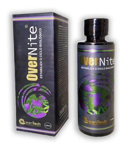 Ocean Tech Over Nite 120ml - Estabiliza O Ciclo Biologico