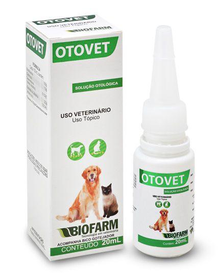 Otovet Solução Otológica 20Ml - Biofarm