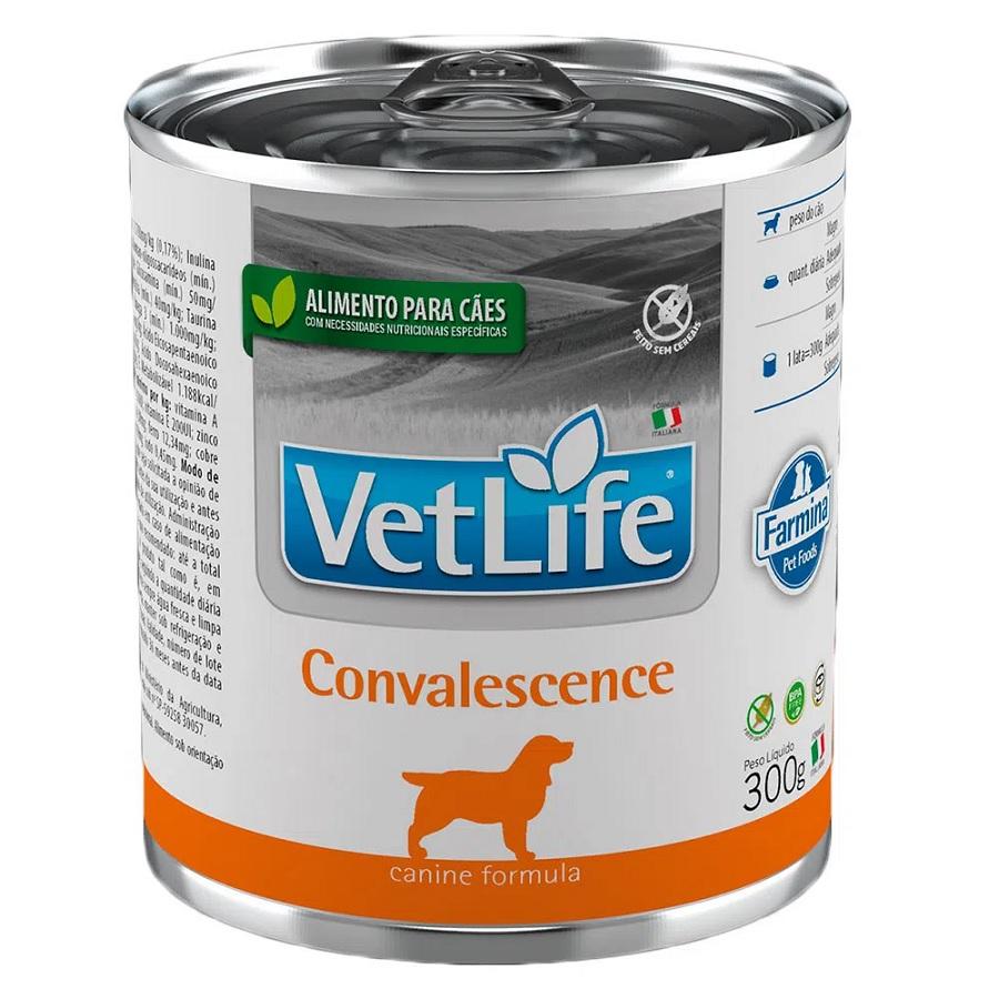 Patê de Ração Úmida Farmina Vet Life Convalescence para Cães 300g
