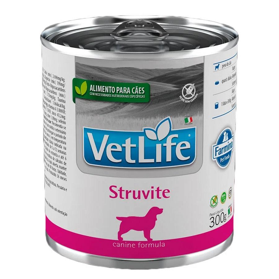 Patê de Ração Úmida Farmina Vet Life Struvite para Cães 300g