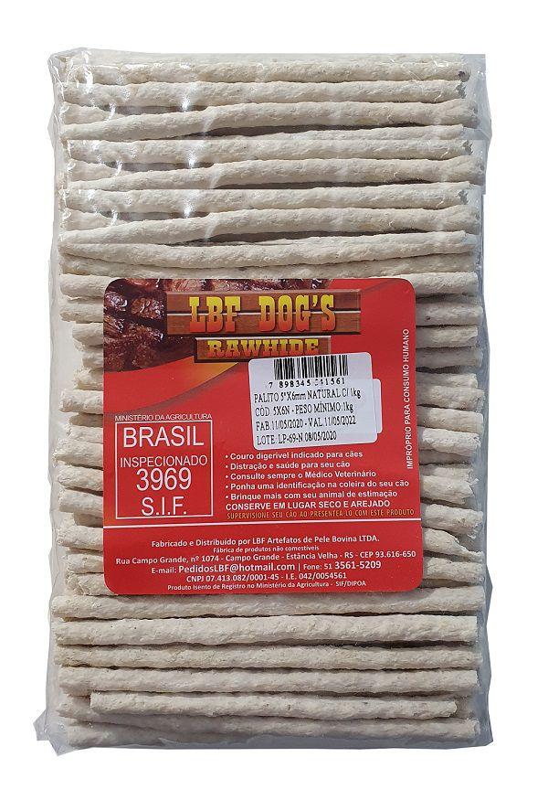 Petisco osso Palito LBF Dog Pacote 1kg