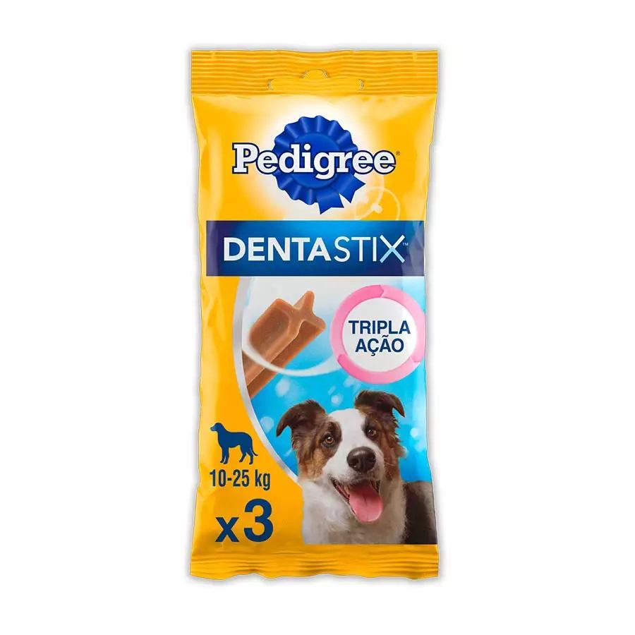 Petisco Pedigree Dentastix para Cães Adultos Raças Médias 3 Unidades