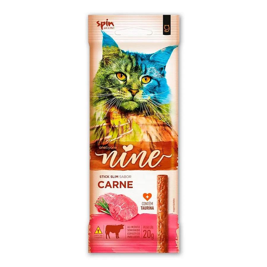 Petisco Stick Nine Cat Spin Pet Carne 20g