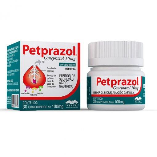 Petprazol 10mg - 30 Comprimidos