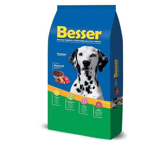Ração Besser Natural Premium Cães Adultos