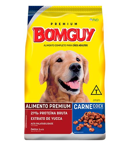 Ração Bomguy Premium Coex Cães Adultos Carne
