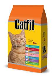 Ração Catfit Gatos Adultos Peixe e Frango