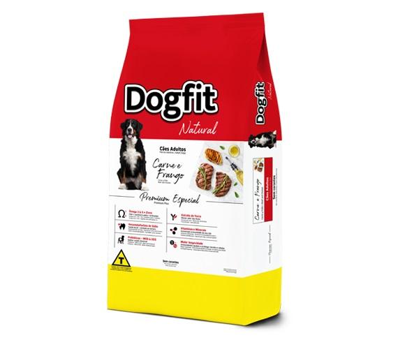 Ração Dog Fit Premium Cães Adultos Carne e Frango