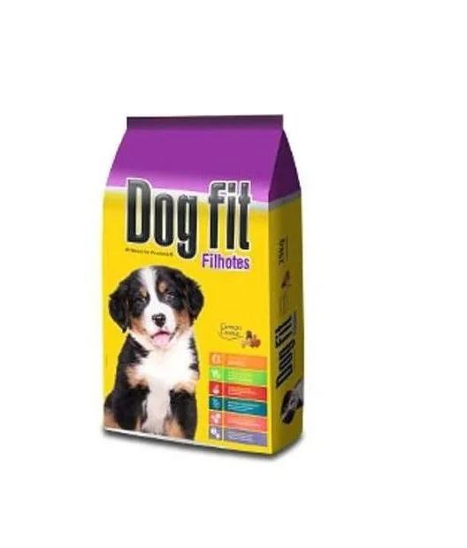 Ração Dog Fit Premium Cães Filhotes Carne e Cereais