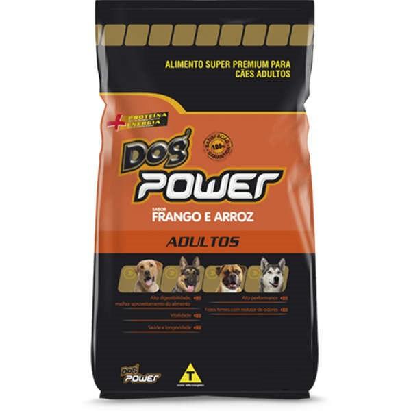 Ração Dog Power Super Premium Cães Adultos Frango e Arroz