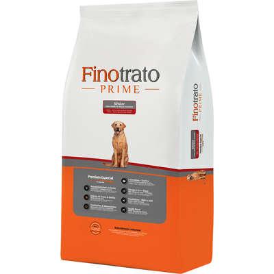 Ração Finotrato Prime Sênior Premium Especial Cães Adultos Raças Grandes e Gigantes 15kg