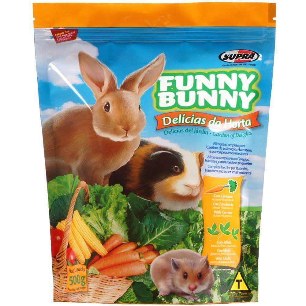 Ração Funny Bunny Delicias da Horta