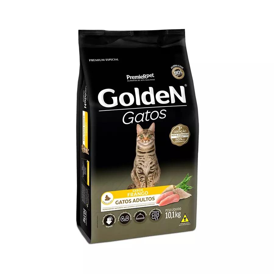 Ração Golden Premium Especial Gatos Adultos Frango