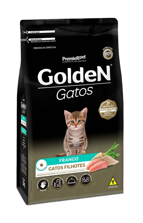 Ração Golden Premium Especial Gatos Filhotes Frango