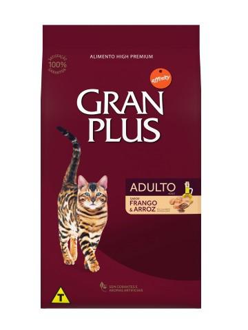 Ração GranPlus Gatos Adultos Sabor Frango e Arroz