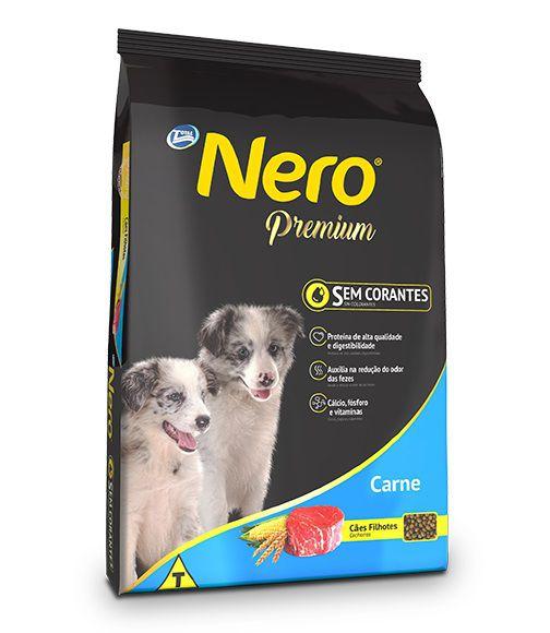 Ração Nero Premium Cães Filhotes Carne