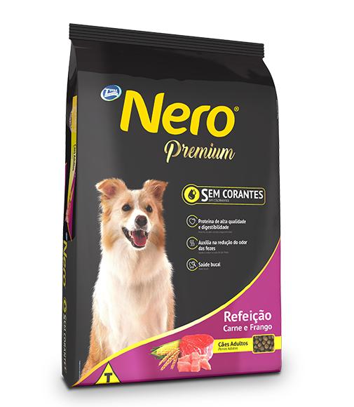 Ração Nero Premium Refeição Cães Adultos Carne e Frango