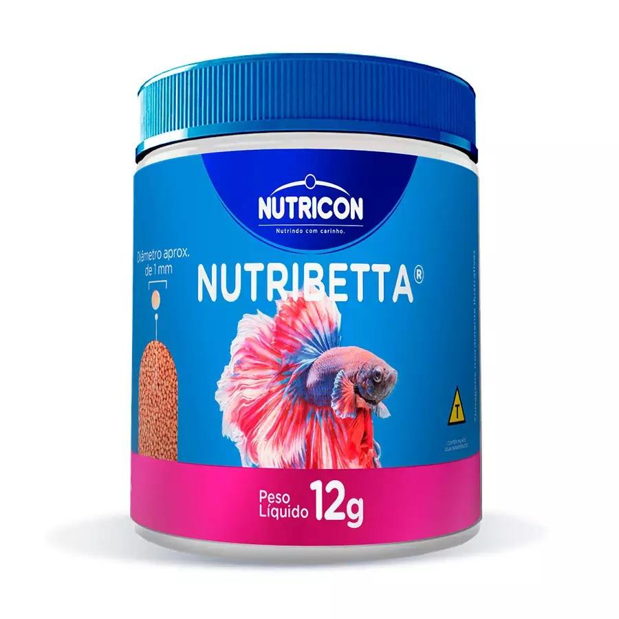 Ração Nutribetta Nutricon para Peixes 12g