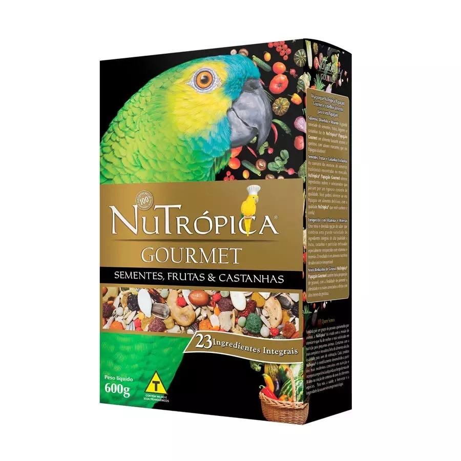 Ração Nutrópica Gourmet para Papagaio 600g