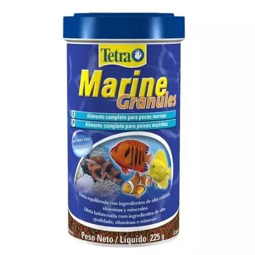 Ração para Peixe Tetra Marine Granules 48g