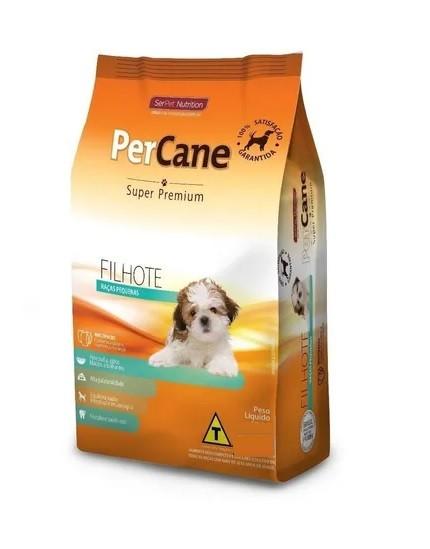 Ração Percane Super Premium Cães Filhotes Raças Pequenas 15kg
