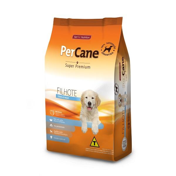 Ração Percane Super Premium Cães Filhotes Todas as Raças 15kg