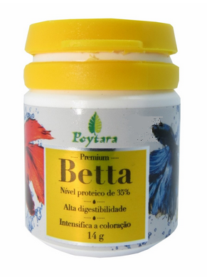 Ração Poytara Betta 14g