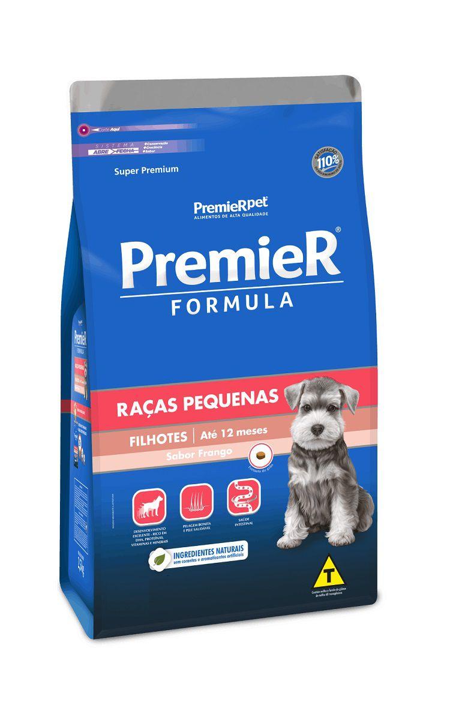 Ração Premier Formula Cães Filhotes Raças Pequenas Frango 20Kg