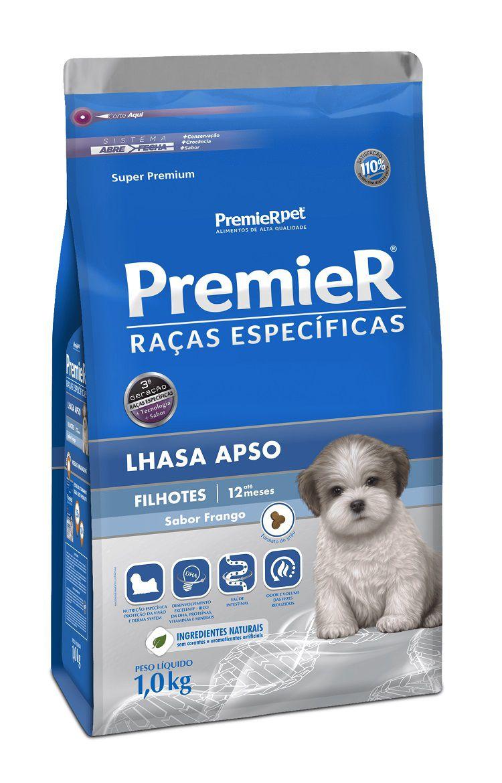 Ração Premier Raças Específicas Lhasa Apso para Cães Filhotes