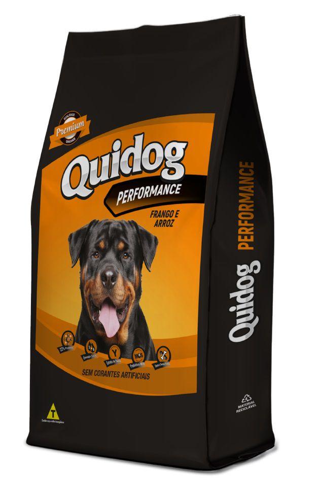 Ração Quidog Performance Cães Adultos Frango e Arroz