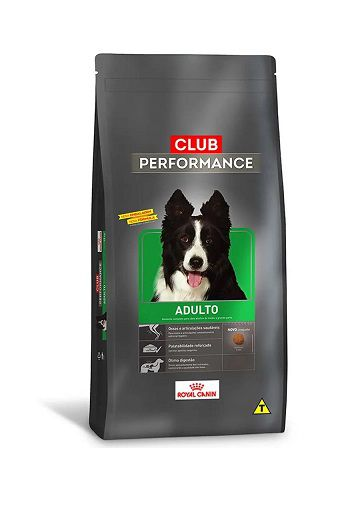 Ração Royal Canin Club Performance Cães Adultos 15Kg