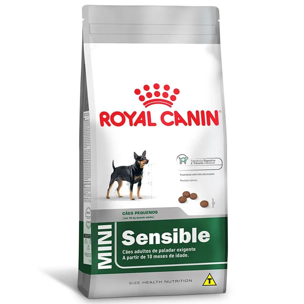 Ração Royal Canin Mini Sensible Cães Adultos Raças Pequenas