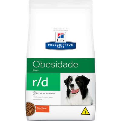 Ração Seca Hill's Prescriptions Diet r/d Redução de Peso para Cães Adultos Obesos 10KG