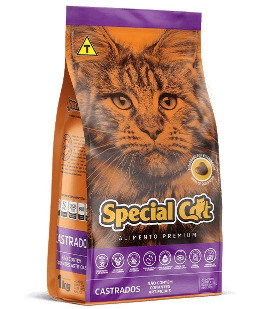 Ração Special Cat Premium Gatos Adultos Castrados