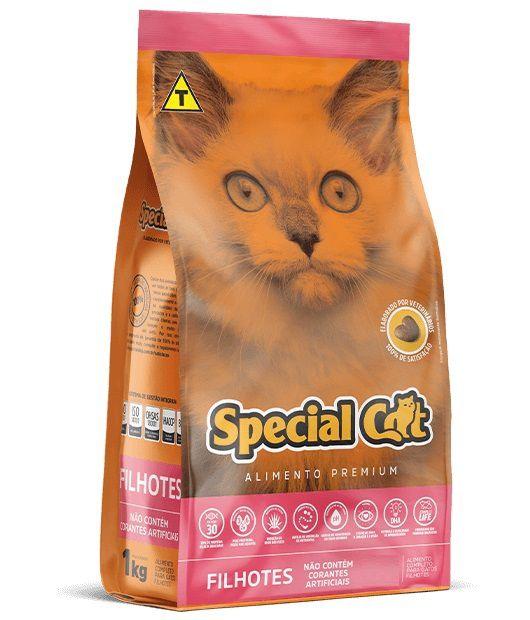 Ração Special Cat Premium Gatos Filhotes