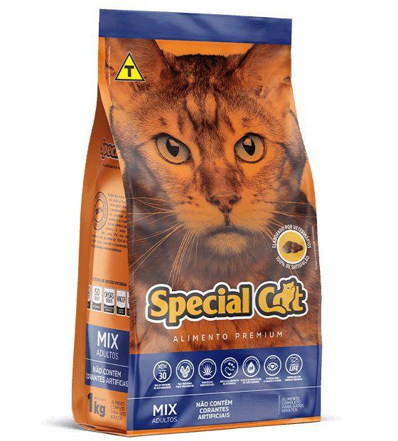 Ração Special Cat Premium Mix Gatos Adultos