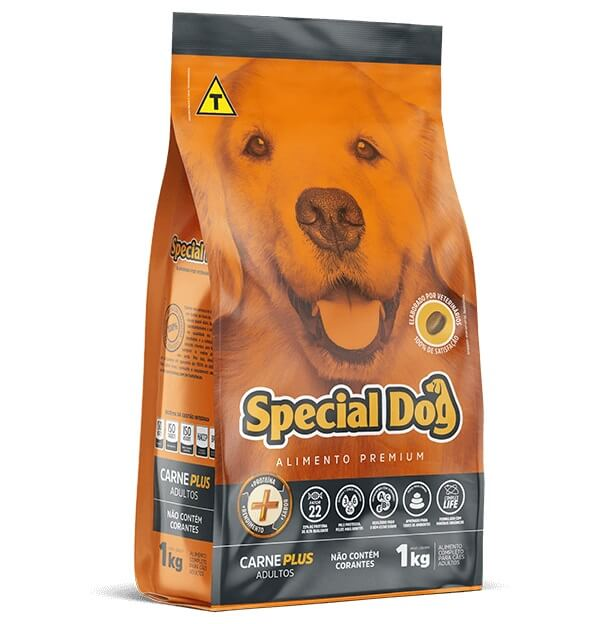 Ração Special Dog Premium Cães Adultos Carne Plus