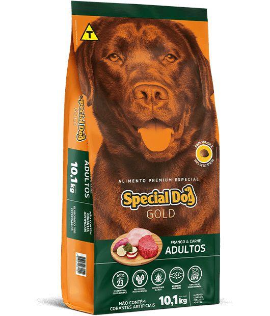 Ração Special Dog Premium Especial Gold Cães Adultos Frango e Carne