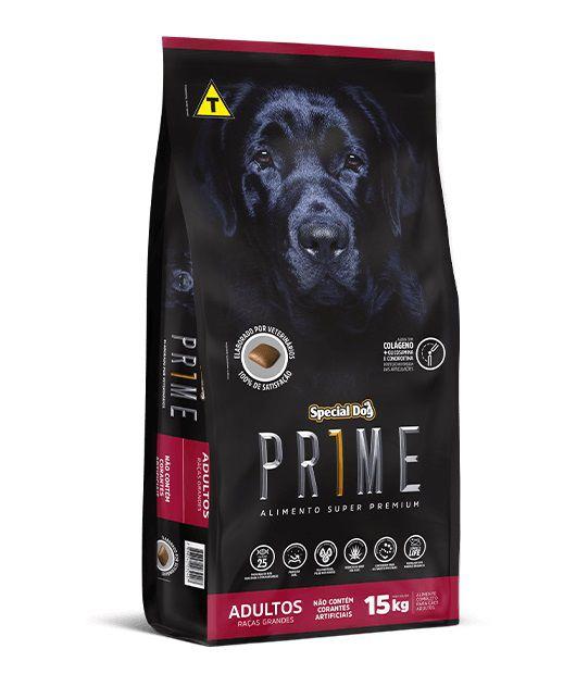 Ração Special Dog Super Premium Prime Cães Adultos Raças Grandes