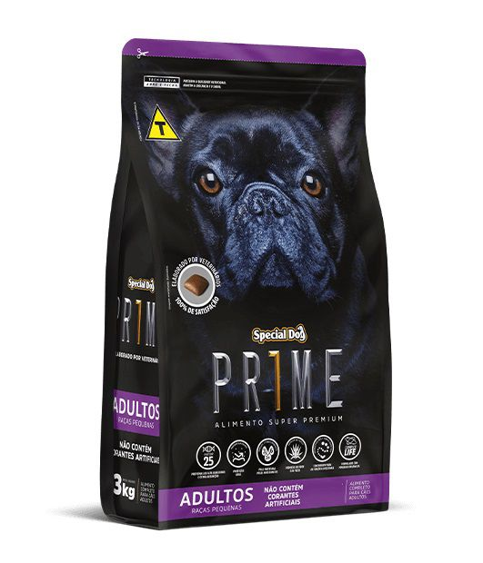 Ração Special Dog Super Premium Prime Cães Adultos Raças Pequenas