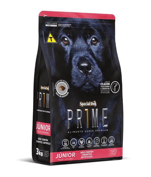 Ração Special Dog Super Premium Prime Cães Filhotes Raças Grandes