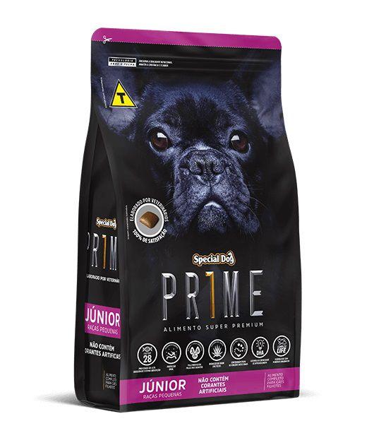 Ração Special Dog Super Premium Prime Cães Filhotes Raças Pequenas