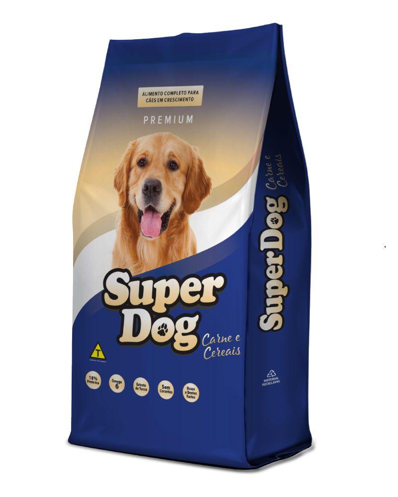 Ração Super dog Premium Cães Adultos